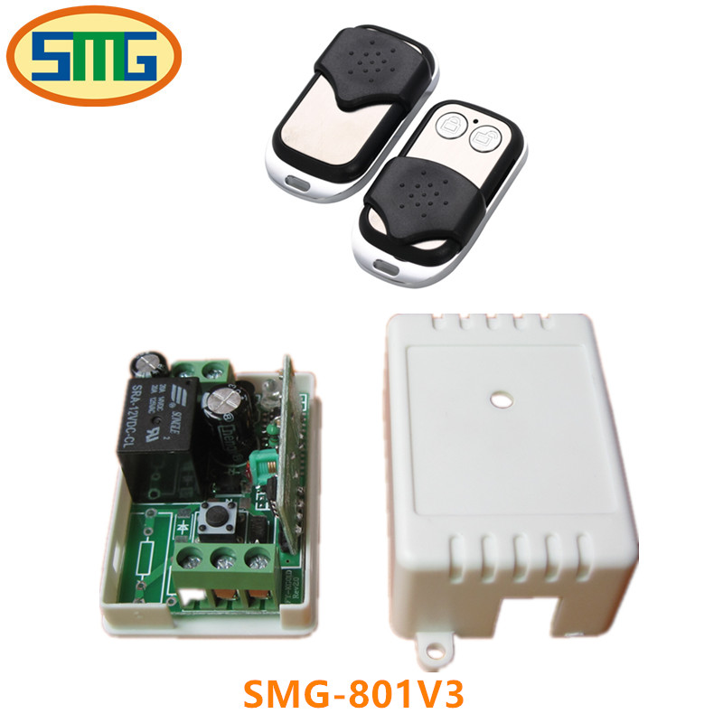 Wireless Remote Control Controller Switch 1 Single Channel