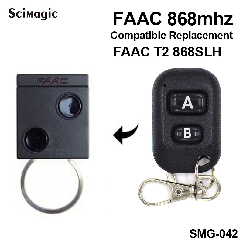 Compatible Faac 868mhz Faac Slh Remote Universal