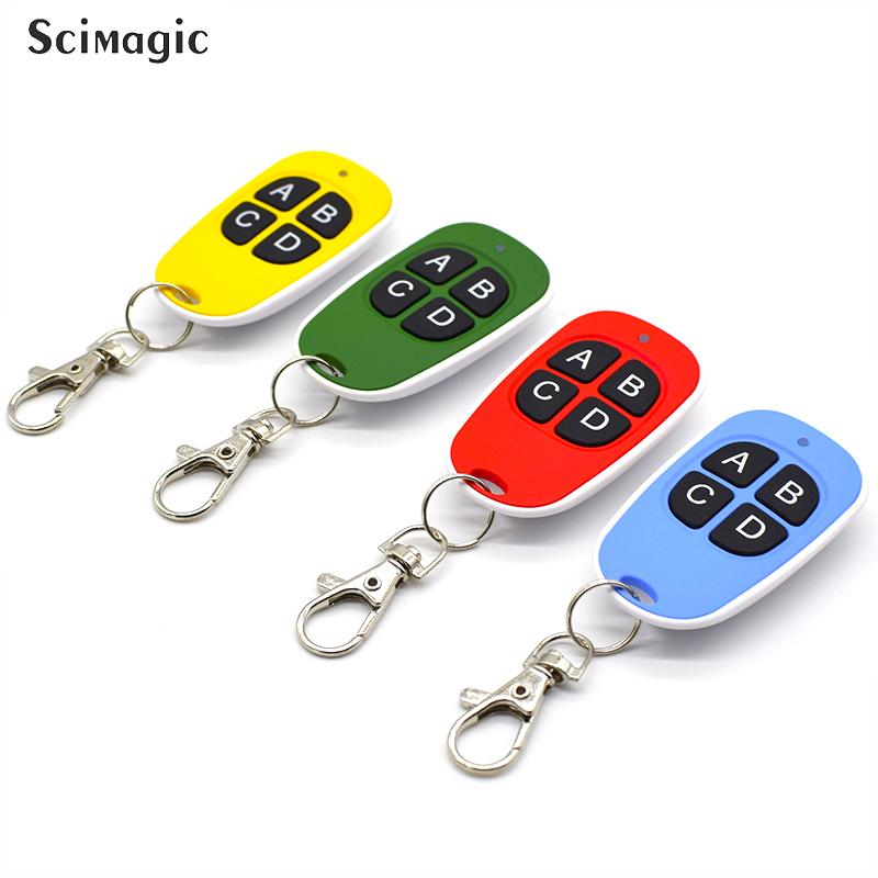 Garage Door Opener Car Key Remote Control Duplicator Clone Code Scanner 12V